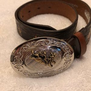 Other - Boys/Girls Rodeo Western Cowboy Belt Leather 🤠